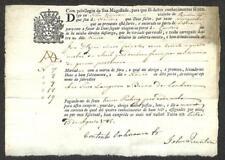 BILL OF EXCHANGE LISBON PORTUGAL JOHN QUINTON MARITIME 1785