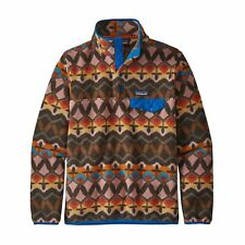 Patagonia Ladies Fleece Pullover Lw Synch Snap-T P /Or
