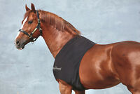 Horseware Rambo SLINKY SHOULDER AntiRub Lycra Bib Chest/Wither Guard Black XS-XL