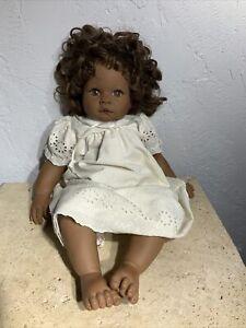 Vintage LEE MIDDLETON DOLL African American Doll ORIGINAL 1998