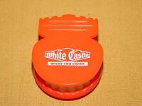 VINTAGE 2000 PROMO WHITE CASTLE TEETH MAGNET CLIP HOLDER