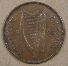 Ireland 1935 Half Penny Better Circulated Grade as Pictured