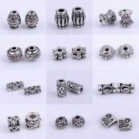 100pcs Tibetan Silver Spacer Beads Findings retro Accessories Wholesale