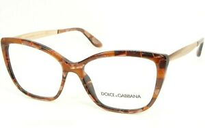 NEW D&G Dolce&Gabbana DG 3280 3131 CUBE BRONZE EYEGLASSES DG3280 54-15-140mm