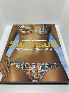 Hard Cover Book Sports Illustrated Swimsuit - 50 Years of Beautiful