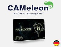 RFID & NFC Schutz / Blocker Karte für EC, Kreditkarten und Ausweise