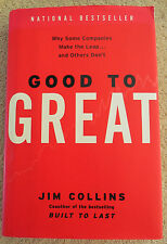 Good To Great Book Jim Collins Why Some Companies Make The Leap and Others Dont