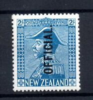 New Zealand 1927 2/- Admiral Blue mint LHM #056 WS21117