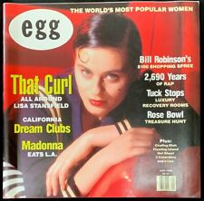 Egg Magazine Vintage May 1990 MADONNA The Worlds Most Popular Women