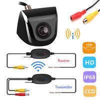 Wireless Car Rear View Reverse Backup Parking Camera HD Night Vision Waterproof