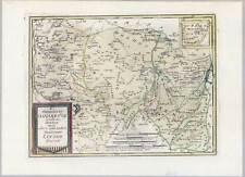 NIEDERSACHSEN-Vörden-Lingen-Ibbenbüren-Quakenbrück - Kupferkarte Reilly 1791