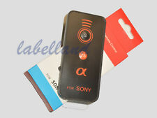 Wireless IR Remote Control fits Sony Alpha A7s II, A7r III, A9 A6000 A6300 A6500
