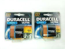 2 Duracell Ultra 223 Batteries Photo