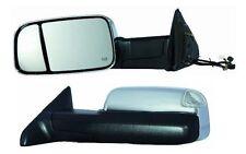 2010 2011 2012 Dodge Ram 1500 2500 3500 Driver Side Chrome Heat Power Mirror