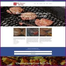 BARBECUE Website Business For Sale - Upto £2,282.80 Commission Sale Dropshipping