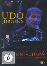 Udo Jürgens : Einfach ich - Live 2009 (DVD)