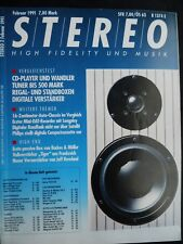 STEREO 2/91,B&M PS 5,ELAC ELR 908,ROGERS P 24,KEF 101/2,SONY TCD D3,ST S 550 Es