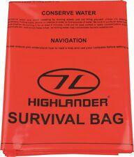 Highlander/Pro-force SURVIVAL BAG Bivi Bag Survival Emergency Bushcraft Walking