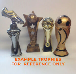 Football trophy/trophies -  4 pack bundle - Free engraving - Large size.
