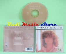 CD GIGLIOLA CINQUETTI Omonimo 2002 eu MASTERPIECE 8573 852672 (Xi2) no lp mc dvd
