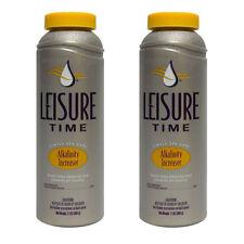 Leisure Time Spa Alkalinity Increaser, 2 lbs [ 2 Pack Bundle ]
