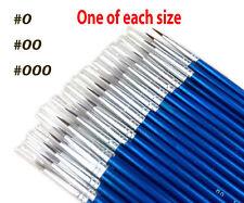 3Pcs Set Fine Hand-painted Thin Hook Line Pen Drawing Art Pens Paint Brush