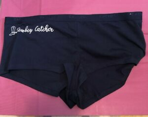 Lane Bryant Cacique 18/20 Cotton Boyshort Cowboy Catcher Boy Shorts Panty Navy