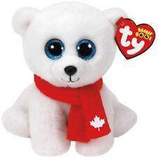 """Ty Beanie Boos - NANOOK NANUQ the 6"""" Polar Bear ~ Canada Exclusive ~ NEW IN HAND"""