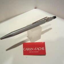Caran d' Ache GREY GENIUS-conductive Top Ballpoint Pen-Pouch/Gift Box included