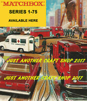Matchbox Series 1-75 Large Size Poster Leaflet Advert Shop Display Sign 1966 #2