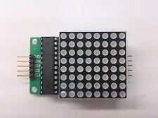 LED Matrix 8x8 MAX7219 ROT * Blitzversand * NEU * Arduino, Raspberry u.a. MwSt.
