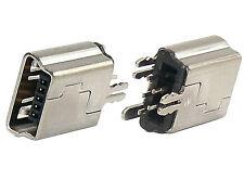 Mini USB 5 Pin B Type Jack Connector Charging Charger Port  MP4 GPS PSP 10pcs