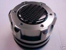 AUDI TT A4 A6 A8 GUNMETAL CARBON FIBER ENGINE OIL CAP