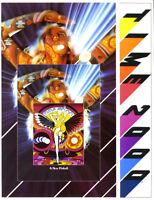 Time 2000 Pinball FLYER Atari Original 1977 NOS Space Age Sc-Fi Game Artwork