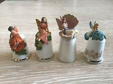 4 Sterling Classic Fairy Thimbles