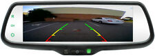 "ROSTRA 7.3"" Widescreen Display Mirror w/Backup Camera & TWO Blind Spot Cameras"