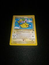 POKÉMON⚡FLYING PIKACHU⚡25~PROMO~BLACK STAR~NEAR MINT~ITALIANO