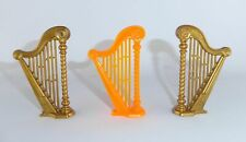 Playmobil - 3 x Harfe - Zupfinstrument - Musikinstrument - Set - TOP !!! - #2