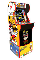 Arcade1up Burger time Arcade 1up Cabinet Machine Retro Riser Light Up Marquee