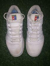 Nike Men's Air Zoom Vapor X Tennis Shoe Sz 9 White And Blue-