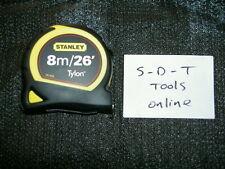 Stanley tylon 1-30-656 8M/26Ft Bi-material Tape Measure with 25mm Blade inc vat