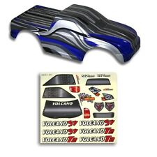 Redcat Racing 1/10 Truck Body Black and Blue for Volcano - Part 88021BB