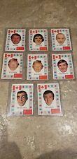 1972-73 OPC O-PEE-CHEE HOCKEY CARDS TEAM CANADA LOT OF 8 CARDS