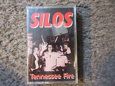 """THE SILOS """"TENNESSEE FIRE"""" 1987 4 TRX.STILL SEALED/BRAND NEW RARE OOP CASSETTE!!"""