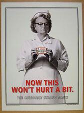 1999 stern nurse rn photo Altoids Mints vintage print Ad