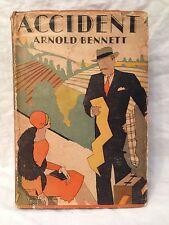 Arnold Bennett - Accident - 1st/1st US 1928 in Original Jacket - M K Morris Art