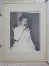 Vecchia foto di SPOSA CHE BRINDA AL MATRIMONIO Calice Abito da Nozze vestito nel