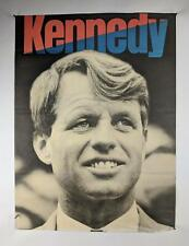 1968 Robert F Kennedy Presidential Candidate Campaign Poster Authentic *AS IS*!