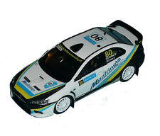 MITSUBISHI LANCER EVO X MANFRINATO RALLY NESTE OIL  2014  DECALS 1/43