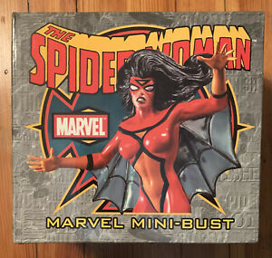 Marvel SPIDER-WOMAN Mini-Bust Bowen Designs NEW 1422/3000 Spider-Man